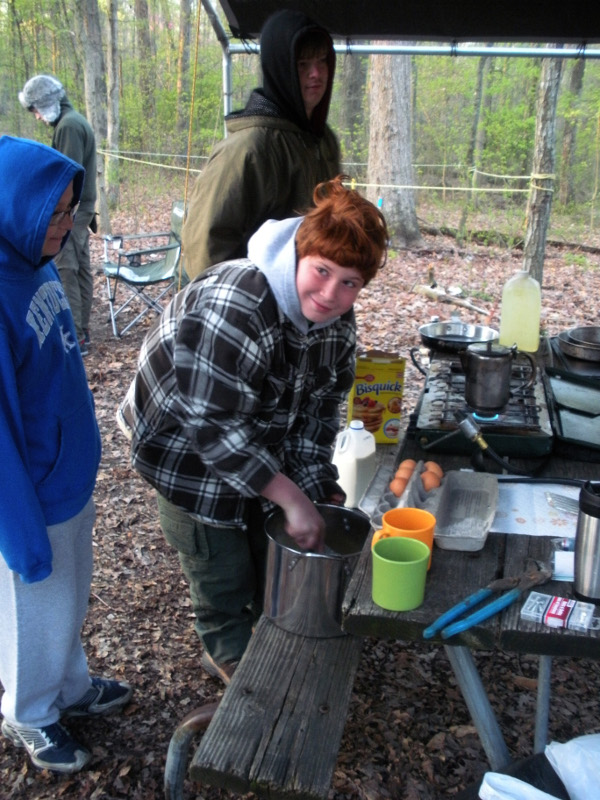 scouts-cooking